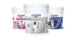 Dirección de arte y fotográfica de packagings para Pinturas Colorin y Megaflex