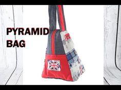 ▶ Pyramid style Hand bag - Part 1 / DIY Bag Vol 16A - YouTube