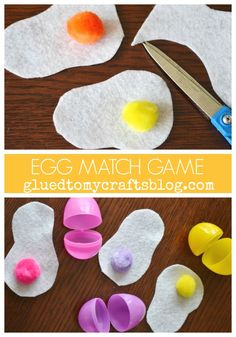 Egg Match Game - Busy Bag Idea