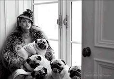 Linda Evangelista. Italian Vogue.
