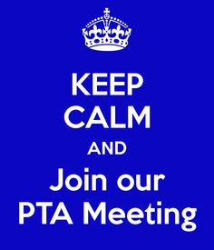 keep calm and join pta - Google Search