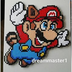 Super Mario Bros 3 hama beads by  dreammaster1