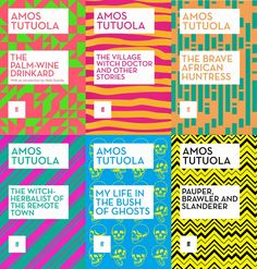looking forward to reading these African classics by Amos Tutuola Wole Soyinka, Africa Day, Witch Doctor, Zine, My Books, African, My Favorite Things, Art Direction, Patterns