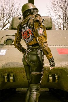 Image of TOXIC VISION WAR harness belt