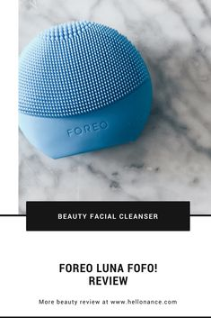Foreo Luna fofo Review | Anti Aging and Skin Cleansing System - hellonance.com Facial Cleansing Brush, Facial Cleanser, Beauty Review, Love Makeup, Makeup Organization, Beauty Make Up, Beauty Trends, Anti Aging, Skin Care