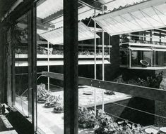 Pivoting awnings in a house by Egon Eiermann [298] | filt3rs