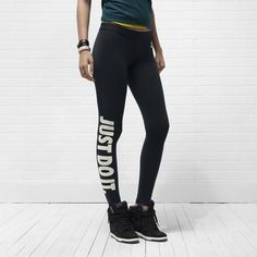 Nike Just Do It Limitless Women's Leggings - so expensive but i still want them somehow. lol
