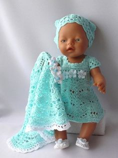 View album on Yandex. Crochet Doll Clothes, Crochet Dolls, Crochet Baby, Doll Sewing Patterns, Knitting Patterns, Girl Dolls, Baby Dolls, Teddy Bear Knitting Pattern, Baby Born Clothes