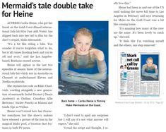 Mako Mermaids - article on Cariba Heine's role in Mako