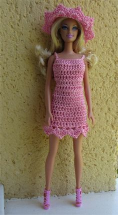 Passion Dolls: Miss Barbie  french pattern,