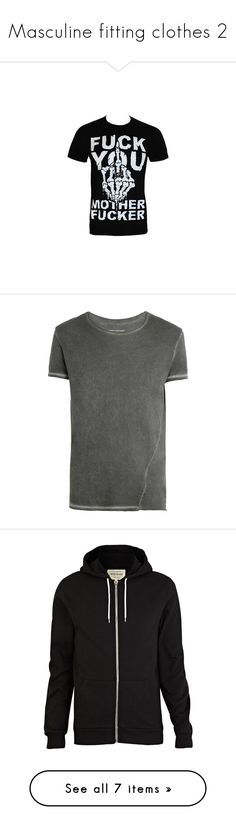 """""""Masculine fitting clothes 2"""" by xxghostlygracexx ❤ liked on Polyvore featuring men's fashion, men's clothing, men's shirts, men's t-shirts, tops, shirts, t-shirts, mens shirts, mens t shirts and men"""