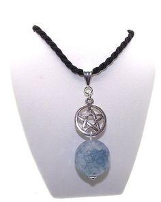 Angel-Blue-Chalcedony-Pentacle-Pentagram-Pendant