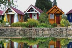 Tiny house communities are seemingly everywhere online, but when it comes to real life are they really a thing? You betcha.: Four Lights Houses