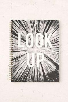 A notebook to encourage you to look around.