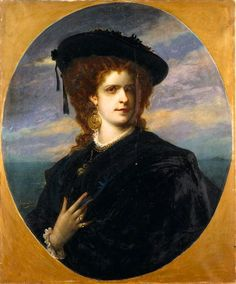 Maria Pia by Joseph Fortuné Layraud (auctioned)   Grand Ladies   gogm
