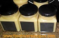 soet mostert reggemaak Jam Recipes, Canning Recipes, Sauce Recipes, Kos, Wow Recipe, Mustard Recipe, South African Recipes, Salad Dressing Recipes, Homemade Sauce