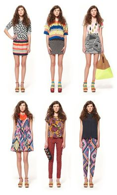 Mix and match prints - fashion - style - inspiration