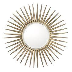 "Celestial Sunburst Mirror 34"" (mirror 14"") $158"