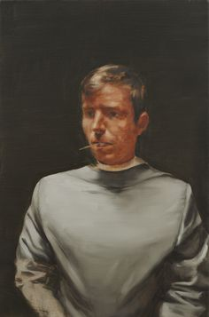 Michaël Borremans The Straw 2010 60 x 40 cm oil on canvas
