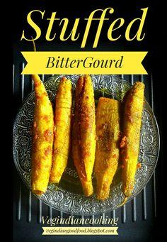 Stuffed Karela Recipe | Veg Indian Cooking . #karela #bittergourd #foodphotography #indianfood #indianrecipes #foodblogger #indianfoodblogger #delicious #healthy #yummlicious #recipe #indiancusine #stuffedkarela