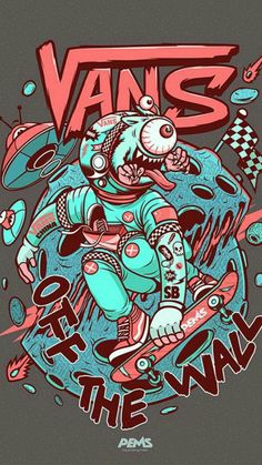 Vans Wallpaper by Agaaa_K - - Free on ZEDGE™ now. Browse millions of popular by pems Wallpapers and Ringtones on Zedge and personalize your phone to suit you. Browse our content now and free your phone Hype Wallpaper, Aesthetic Iphone Wallpaper, Cool Wallpaper, Aesthetic Wallpapers, Iphone Wallpaper Vans, Graffiti Wallpaper, Art Pop, Vexx Art, Supreme Wallpaper