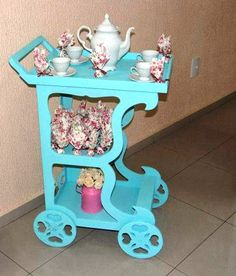 Chá de bebê - Shabby chic