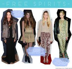 Free Spirit Style: Someone, Someone Else, Whitney Port, Jaime King