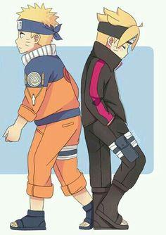Naruto e bolt uzumaki