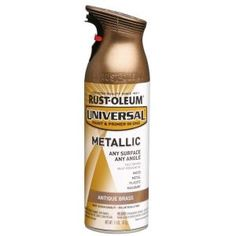 Rust-Oleum Universal, 11 oz. All Surface Antique Brass Metallic Paint and Primer in One (6-Pack), 260728 at The Home Depot - Mobile