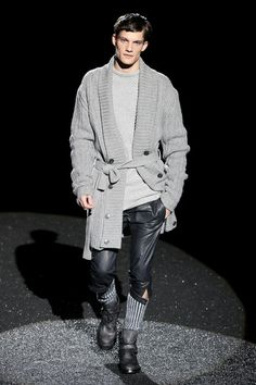 Z Zegna Fall 2007--love the sweater and the socks.