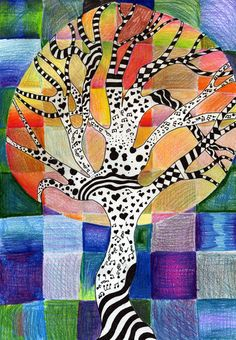 Grade by kaja k high school art, middle school art, ecole art, autumn a 6th Grade Art, Ecole Art, Middle School Art, High School, School Art Projects, Autumn Art, Elements Of Art, Art Lesson Plans, Art Classroom