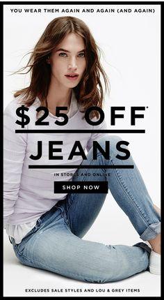 LOFT: Jeans