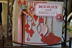 CTMH Sparkle and Shine December Daily journal!!!  Come see what I used to create this adorable project http://littlebitofscrap.blogspot.com/