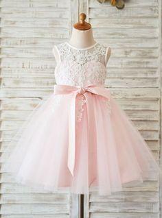 1b2952e56 Flower Girl Dresses Pink Tutu Flower Girl Dress Vestidos 3años