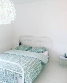 Geef je slaapkamer een rustige, frisse uitstraling met dit mintgroene dekbedovertrek van HEMA. #HEMAwonen