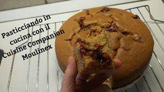 Pasticciando in cucina con il Cuisine Companion Moulinex: Tortina con farina di tritordeum, di castagne e la... Muffin, Breakfast, Food, Morning Coffee, Essen, Muffins, Meals, Cupcakes, Yemek