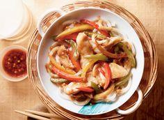 honey garlic chicken stir-fry