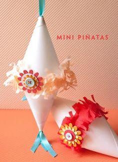 Mini pinatas diy - perfect for around the world trip to Mexico