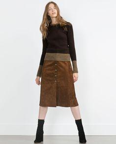 KNIT SWEATER-Sweaters-Knitwear-WOMAN   ZARA United States