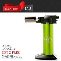 #BLACKFRIDAY WEEK SALE  Buy any torch and get 2 Newport Butane 300ml for free  Saving $16 and Free Shipping on all orders.  Shop Now:  ButaneWorld.com  #butane #newport #newportzero #nxxt2zero #vector #torch #butanetorch #cheapbutanetorch #cheapbutanefuel #goldtorch #blackfridaydeals #butaneworld #blackfriday2016 #thanksgiving #blackfriday #glassofig #budderblocks #torches #tane #headyaf #headytorch #headygear #headygang #lowtemplife #thou