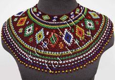 Items similar to Traditional Lemko Krywulka ( Kryza ) Folk Handmade Beads Beaded NECKLACE Gerdan Dark Red on Etsy Handmade Beads, Handmade Jewelry, Unique Jewelry, How To Make Notes, How To Make Beads, Native Beadwork, Czech Glass Beads, Dark Red, Seed Beads
