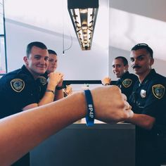 officers gave their last wristband! You are appreciated! My Cop, Houston Police, Breathe, Captain Hat, Safety, Live, Photos, Women, Security Guard