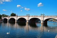 Kingston Bridge on a lovely summers' day - Student photos - Ask Us – http://www.kingston.ac.uk/undergraduate/ask-us/?utm_source=Pinterest_medium=Social_campaign=KUPinterest_content=AskUs