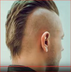 Mohawk Hairstyles Men, Undercut Mohawk, Shaved Undercut, Undercut Women, Haircuts For Men, Men's Haircuts, Men's Hairstyle, Short Hair Cuts, Short Hair Styles