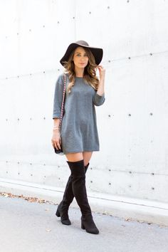 OOTD - Over The Knee Boots