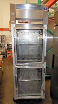 McCall 4-4020 1 Section, 2 Door Commercial Refrigerator #McCall