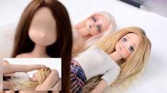 DIY como hacer pelo o pelucas muy naturales para muñecas