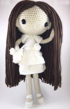 Maria  Amigurumi Doll Crochet Pattern PDF by CarmenRent on Etsy ♡