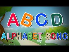 ABC Song - Alphabet Song - Phonics Song for Kids - Kids Songs by The Learning Station Alphabet Sounds Song, Abcd Alphabet Song, English Alphabet Song, Alphabet Song For Kids, Abc Sounds, Letter Sounds, Preschool Songs, Preschool Letters, Kids Songs