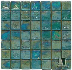 This is the kind of tile I'd love to have on the side of my dream pool/outdoor tub...Something that would remind me of Monet's Water Lilies.
